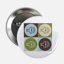 """Audiology Pop Art 2.25"""" Button (10 pack)"""
