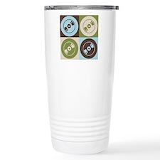 Audio and Video Pop Art Travel Coffee Mug