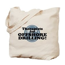Therapists For Offshore Drilling Tote Bag