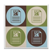 Archives Pop Art Tile Coaster