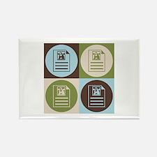Archives Pop Art Rectangle Magnet