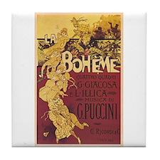 La Boheme Tile Coaster