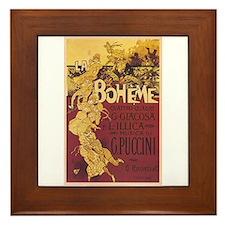 La Boheme Framed Tile
