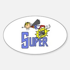 Girl SUPER Oval Decal