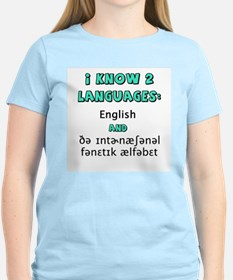 I KNOW 2 LANGUAGES T-Shirt