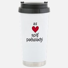 Spiffy speech Travel Mug