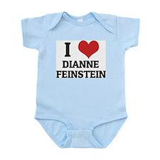 I Love Dianne Feinstein Infant Creeper