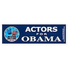 ACTORS FOR OBAMA Bumper Stickers