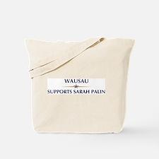 WAUSAU supports Sarah Palin Tote Bag