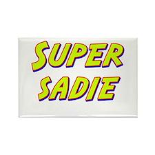 Super sadie Rectangle Magnet