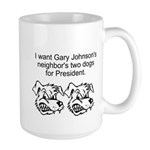 Gary Johnsons Dogs Mugs