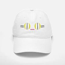 Smiley Kitty Emoticon Baseball Baseball Cap