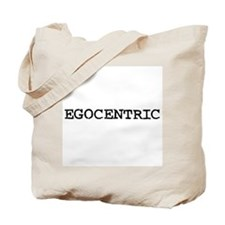Egocentric Tote Bag
