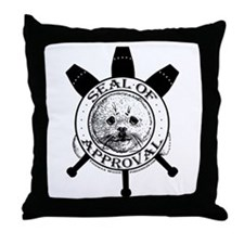 """""""Seal of Approval"""" Throw Pillow"""