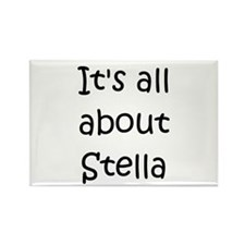 Cute Stella Rectangle Magnet