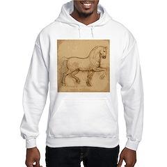 Leonardo Da Vinci Horse Hoodie