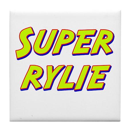Super rylie Tile Coaster