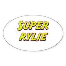 Super rylie Oval Decal