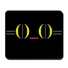 Smiley Kitty Emoticon Mousepad