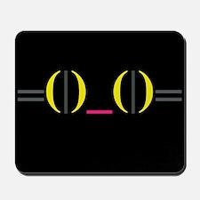 Smiley Kitty Emoticon Mousepad