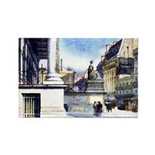 Paris Bourse Rectangle Magnet