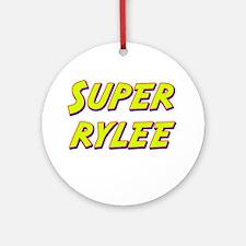 Super rylee Ornament (Round)