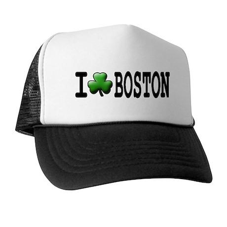 I Shamrock Boston - Trucker Hat