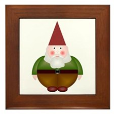 Mister Gnome Framed Tile