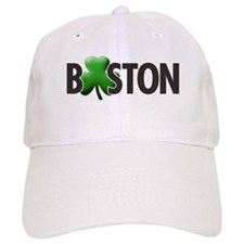 Boston (Shamrock O) - Baseball Cap