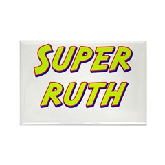 Super ruth Rectangle Magnet