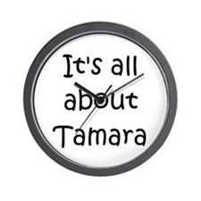 Cool Tamara Wall Clock