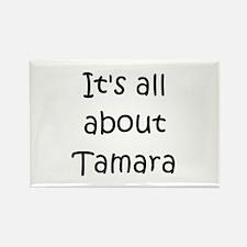 Cool Tamara Rectangle Magnet