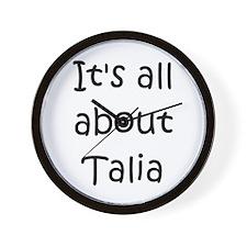 Unique Talia Wall Clock