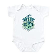 Guitar Skull Wings Infant Bodysuit