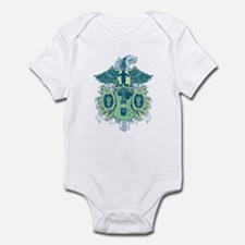 Guitar Skull Wings Infant Bodysuit