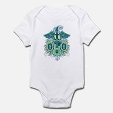 Guitar Skull Wings Onesie