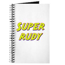 Super rudy Journal