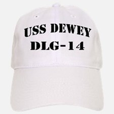 USS DEWEY Baseball Baseball Cap