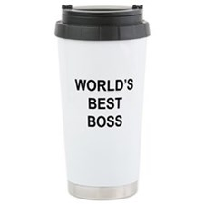 """World's Best Boss"" Travel Mug"