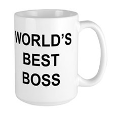 """World's Best Boss"" Mug"