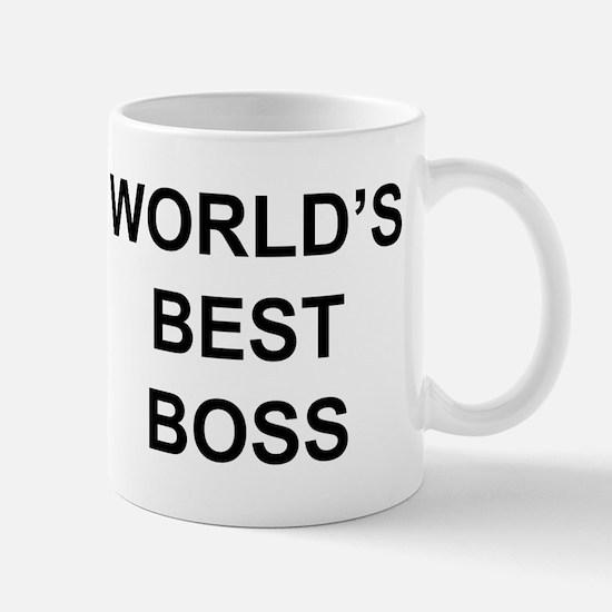 """""""World's Best Boss"""" Mug"""