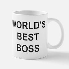 """World's Best Boss"" Small Mugs"