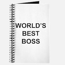 """""""World's Best Boss"""" Journal"""