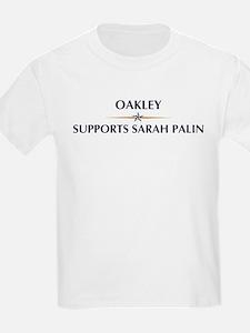 OAKLEY supports Sarah Palin T-Shirt