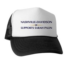 NASHVILLE-DAVIDSON supports S Trucker Hat