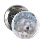Maltese Mommy & Me Button
