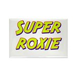 Super roxie Rectangle Magnet