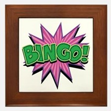 Bingo Bang Framed Tile