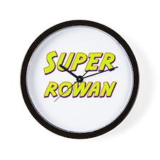 Super rowan Wall Clock