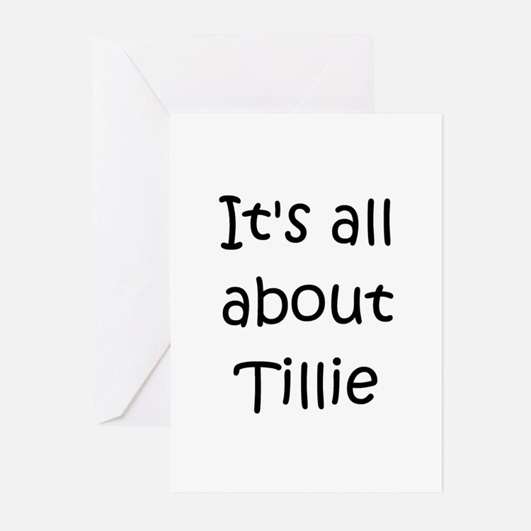 Cute Tillie Greeting Cards (Pk of 10)